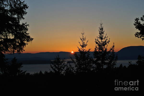 Photograph - Sunset 1 - Lively Peak by Sharron Cuthbertson