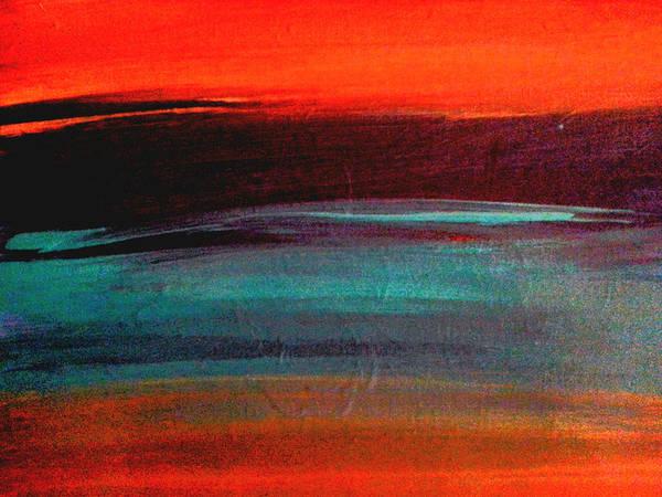 Painting - Sunset 1 by Nikki Dalton