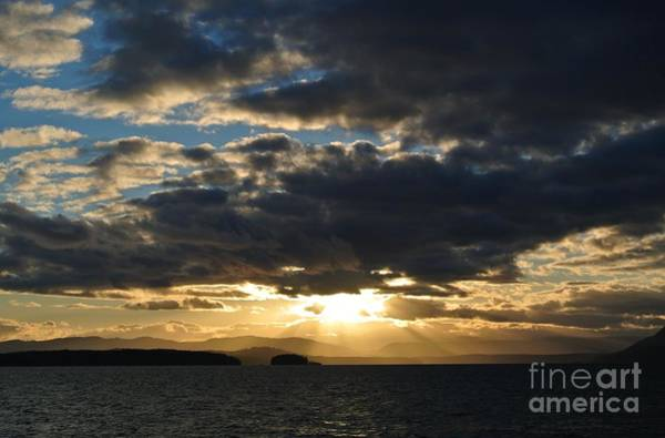 Photograph - Sunset 2 - Thieves Bay by Sharron Cuthbertson