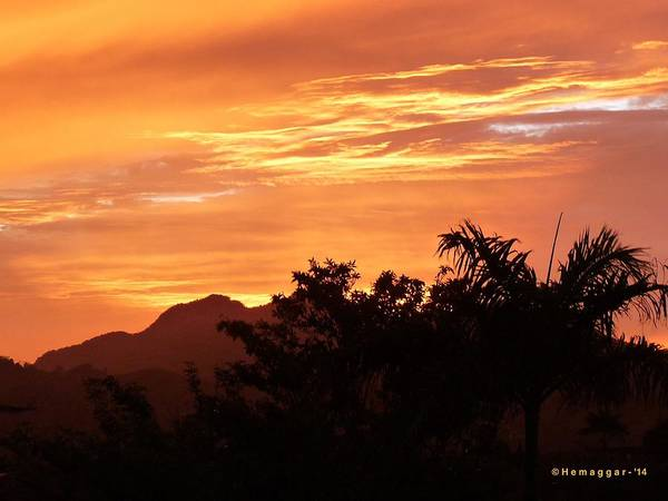 Puerto Plata Photograph - Sunset-3-in D.r. by Hemu Aggarwal