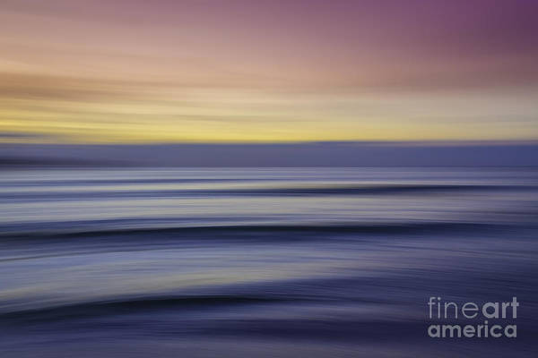 Photograph - Sunset Abstract by Hans- Juergen Leschmann