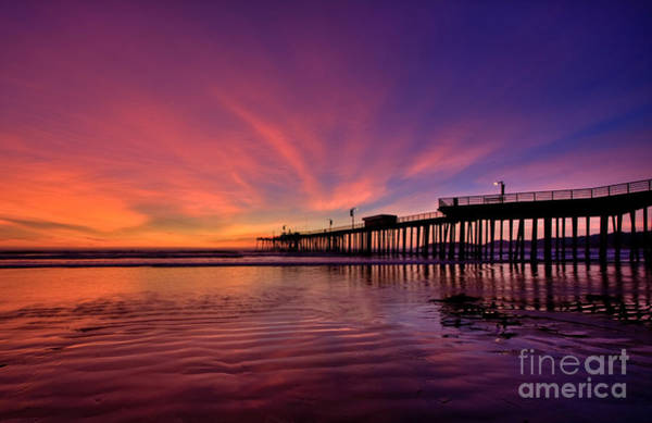 Photograph - Sunset Afterglow by Beth Sargent