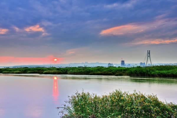Taiwan Photograph - Sunset Afterglow by Taiwan Nans0410