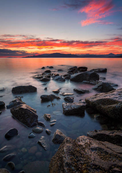 Photograph - Sunset At Acadia Beach by Alexis Birkill