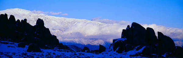 Escarpment Photograph - Sunset At Alabama Hills And Inyo by Panoramic Images