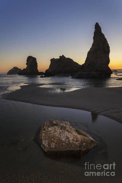 Photograph - Sunset At Bandon Beach by Bryan Mullennix