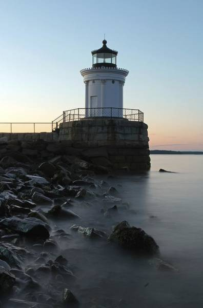 Photograph - Sunset At Bug Light  by Juergen Roth