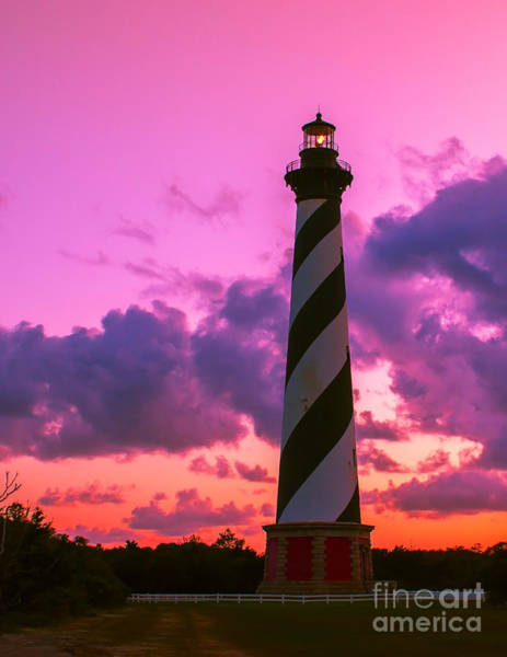 Photograph - Sunset At Cape Hatteras Vertical  by Nick Zelinsky