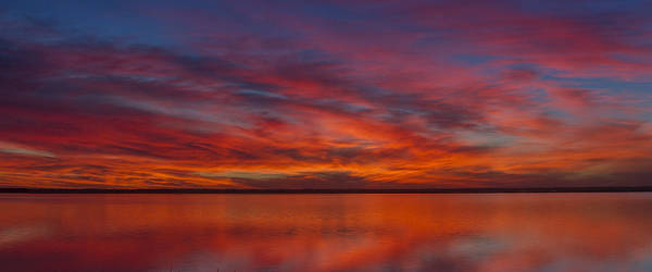 Photograph - Sunset At Cheyenne Bottoms 1 by Rob Graham