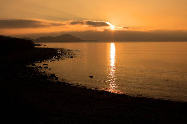 Photograph - Sunset On A Western Shore by Aidan Moran