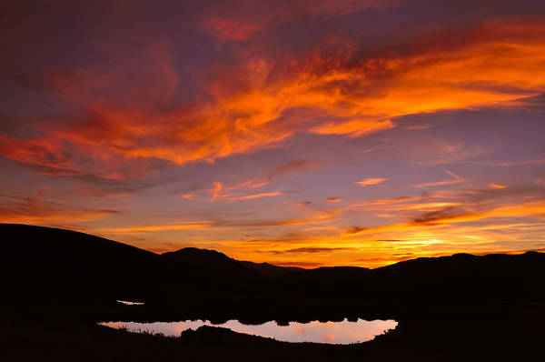 Photograph - Sunset At Independence Pass - Pitkin County - Colorado by Photography  By Sai