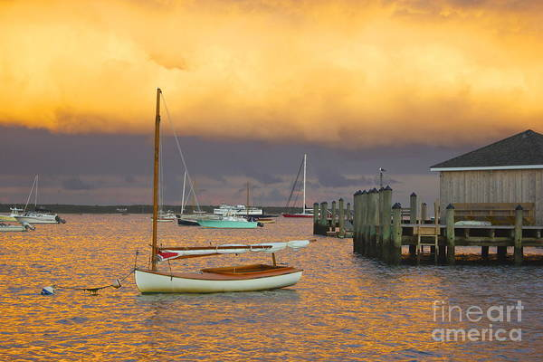 Photograph - Sunset At Kennedy Compound by Amazing Jules