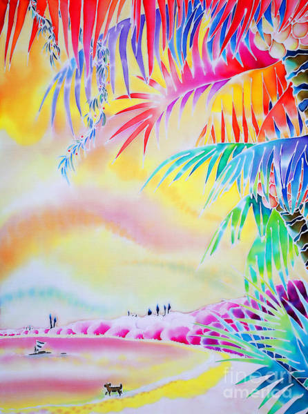 Sunset At Kuto Beach Art Print