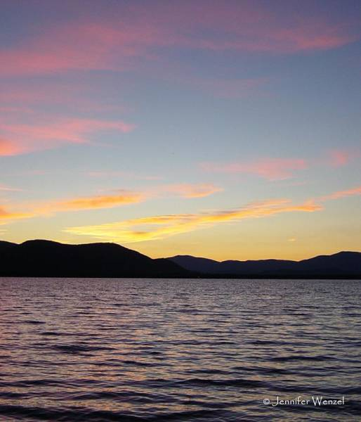 Ossipee Wall Art - Photograph - Sunset At Lake Ossipee by Jennifer Wenzel