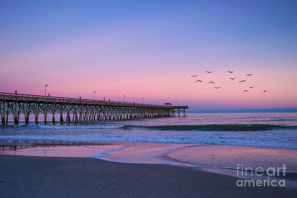Photograph - Sunset At Myrtle Beach by Rima Biswas