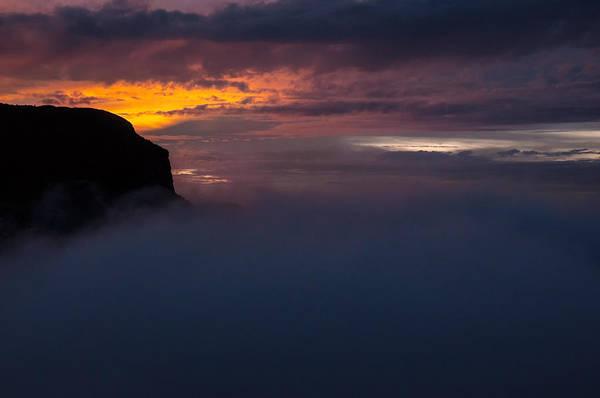 Wall Art - Photograph - Sunset At Nevado Del Ruiz by Jess Kraft