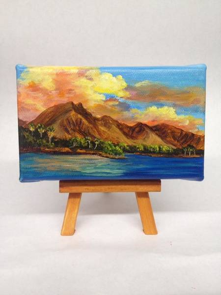 Painting - Sunset At Olowalu by Darice Machel McGuire