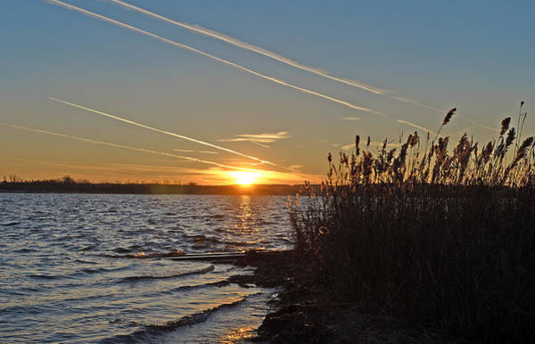 Onondaga Photograph - Sunset At Onondaga Lake - Syracuse New York by Brendan Reals