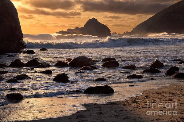 Photograph - Sunset At Pfeiffer Beach by Stuart Gordon