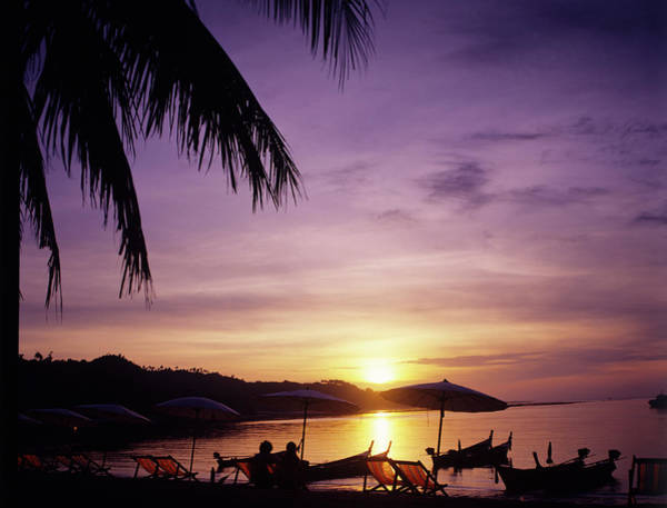 Sunset At Phi Phi Islands, Thailand Art Print