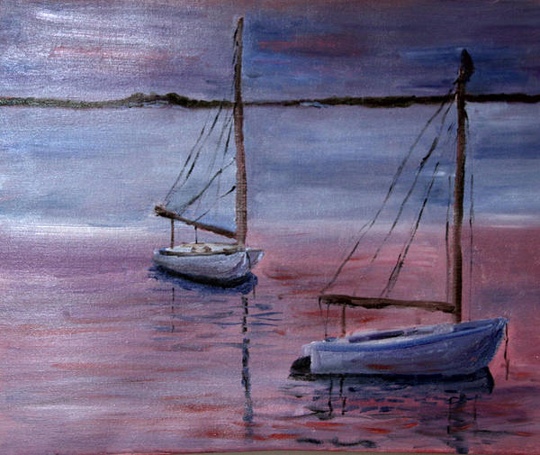Sunset At Pleasant Bay Art Print