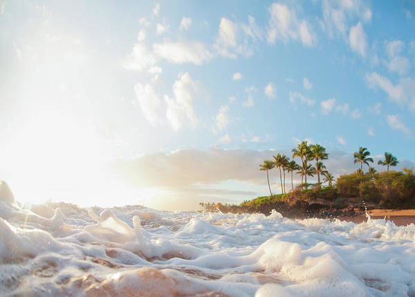 Big Island Photograph - Sunset At Poolenapena by M Swiet Productions