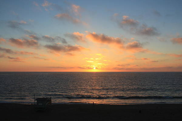 Photograph - Sunset At Redondo Beach by Daniel Schubarth
