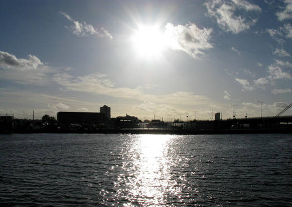 Photograph - Sunset At Royal Albert Dock by Helene U Taylor