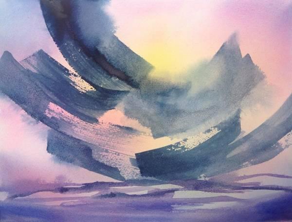 Painting - Sunset At Shaw by Tara Moorman