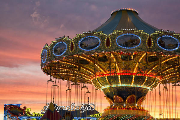 Photograph - Sunset At The Fair by Denise Bush