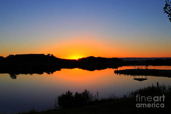 Fruita Photograph - Sunset At The James M. Robb State Park by Bob Hislop