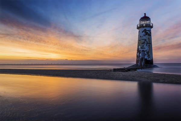 Photograph - Sunset At The Lighthouse V2 by Ian Mitchell