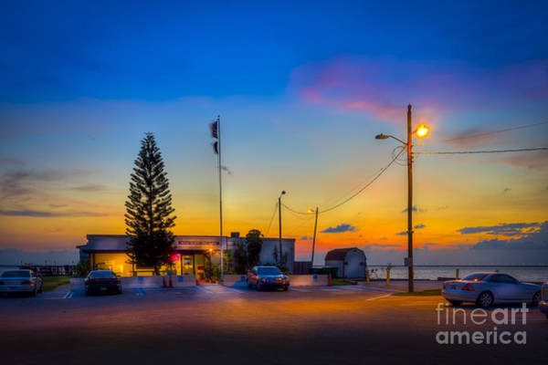 Wall Art - Photograph - Sunset At The Post by Marvin Spates
