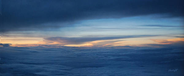 Photograph - Sunset At Thirty Three Thousand Feet by Paulette B Wright