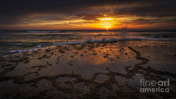 Photograph - Sunset At Torregorda Beach Cadiz Spain by Pablo Avanzini