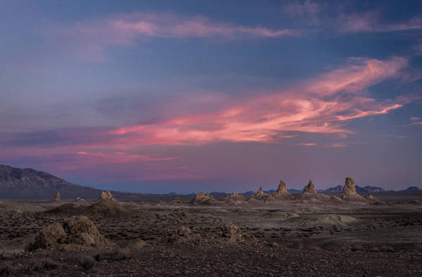 Photograph - Sunset At Trona Pinnacles by Cat Connor