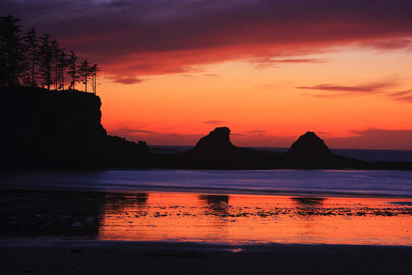 Photograph - Sunset Bay Sunset 2 by Mark Kiver