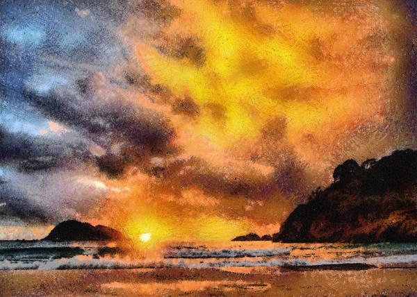 Photograph - Sunset Beach by Charmaine Zoe