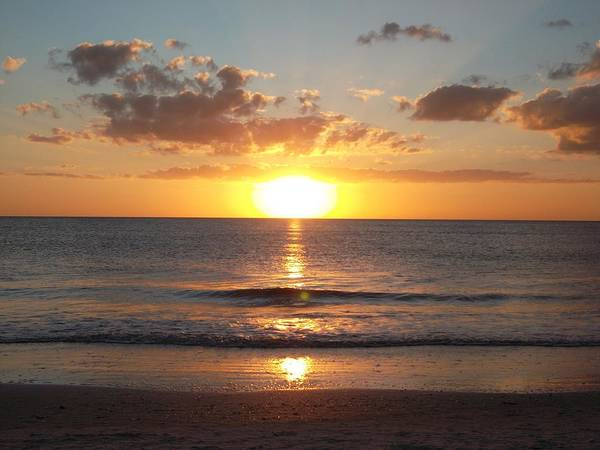 Disappearance Photograph - Sunset Beach by FL collection