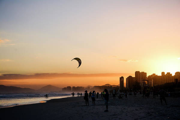 Rio De Janeiro Photograph - Sunset Beach by Grace Oda