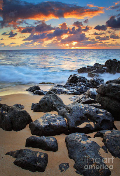 Sunset Colors Photograph - Sunset Beach by Inge Johnsson