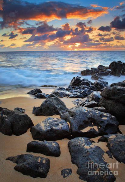 Photograph - Sunset Beach by Inge Johnsson