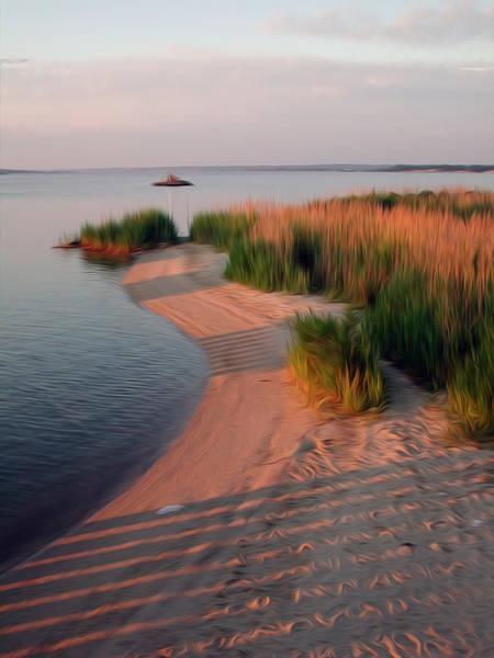 Wall Art - Digital Art - Sunset Beach by Kelvin Booker