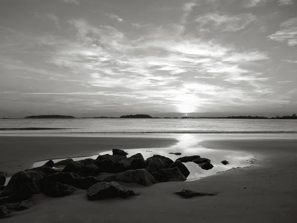 Tybee Island Photograph - Sunset Beachscape by Joseph Shields