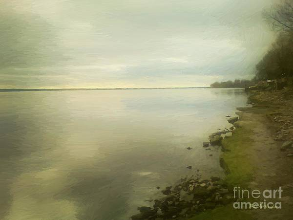 Painting - Sunset Before The Storm by RC DeWinter