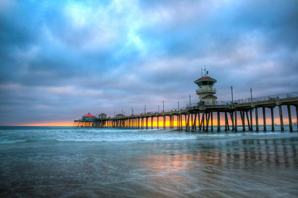 Wall Art - Photograph - Sunset Beneath The Pier by Andrew Slater