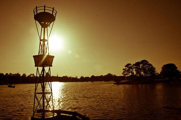 Photograph - Sunset Bouy by Melinda Ledsome