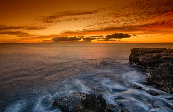 Wall Art - Photograph - Sunset By The Cliff by Tin Lung Chao