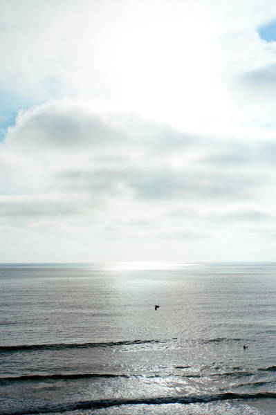 Marine Layer Photograph - Sunset - California - Pacific Ocean by Vivienne Gucwa