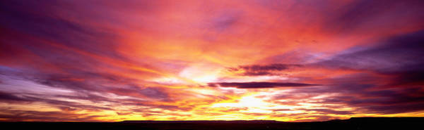 Expanse Photograph - Sunset, Canyon De Chelly, Arizona, Usa by Panoramic Images